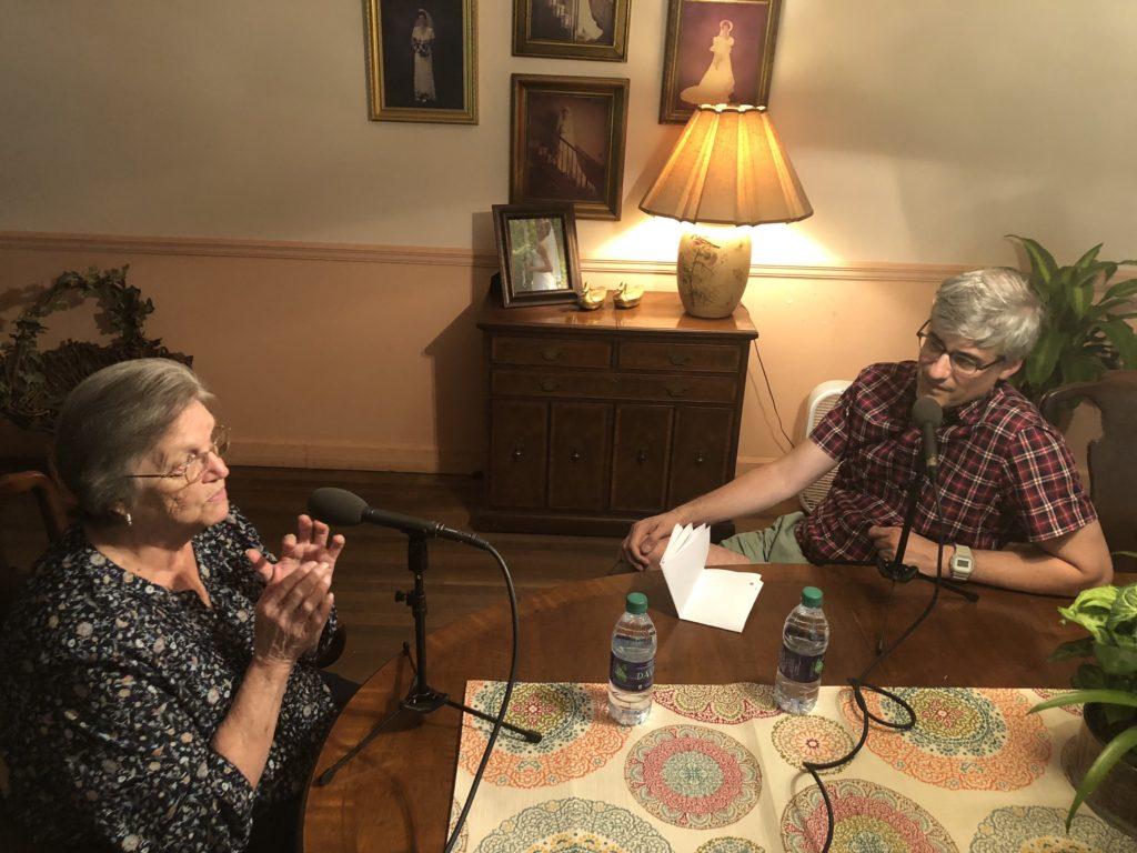 Mo Rocca with Sybil Carter